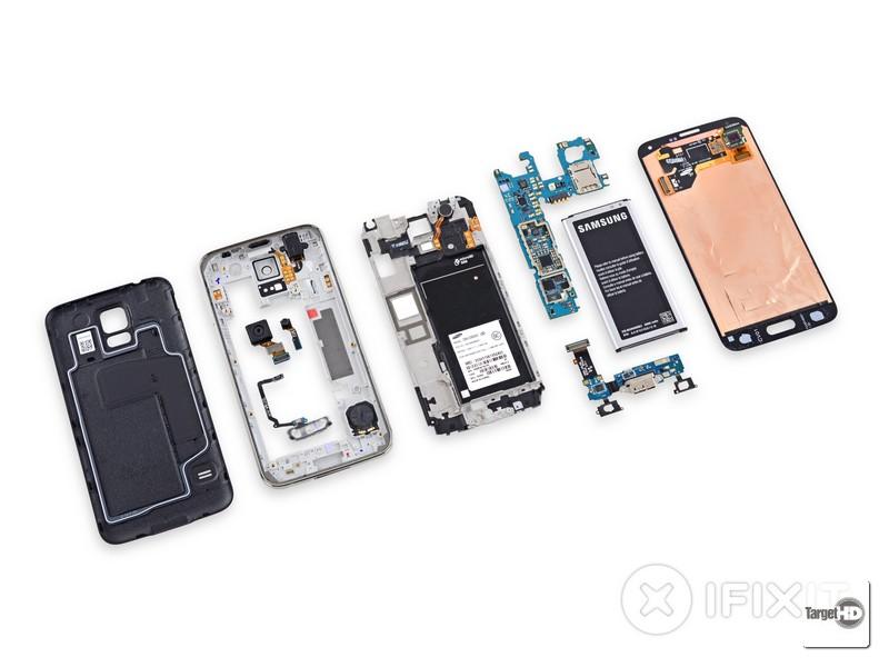 Reparar o Galaxy S5 será mais complicado que o esperado