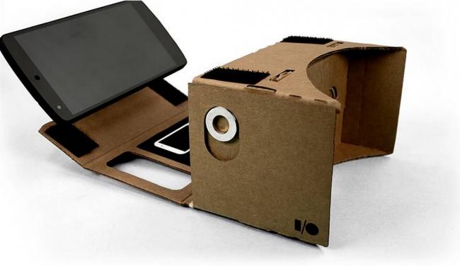 Google Cardboard: uma caixa de realidade virtual de papelão para o seu smartphone, que custa apenas US$ 20