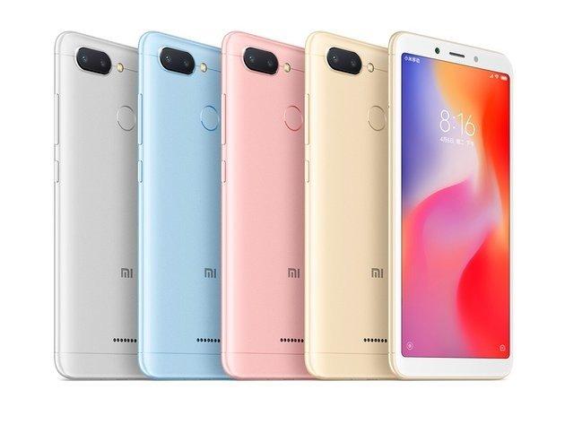 Xiaomi Redmi 6 - Cinco smartphones que são muito amigos do seu bolso