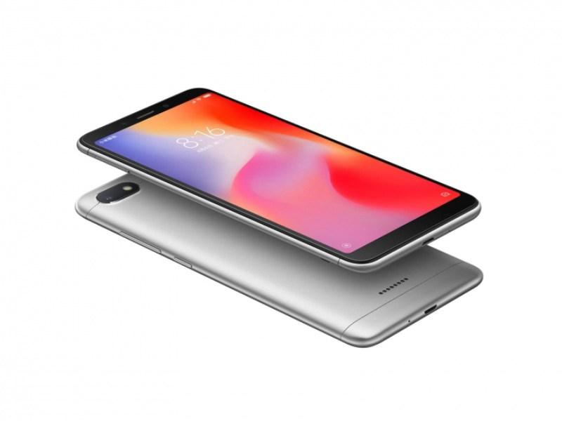 Xiaomi Redmi 6A Android Oreo MIUI 2 - Cinco smartphones que são muito amigos do seu bolso