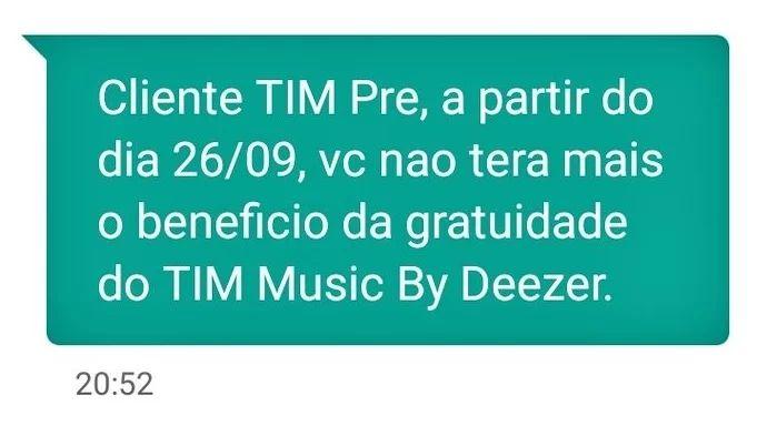 timpre music deezer - Nada de TIMmusic by Deezer para clientes pré da TIM (e a concorrência agradece)