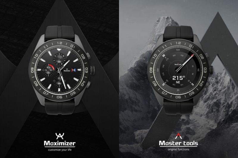76e833c8ad0 A LG também apresentou hoje (3) o seu primeiro smartwatch híbrido