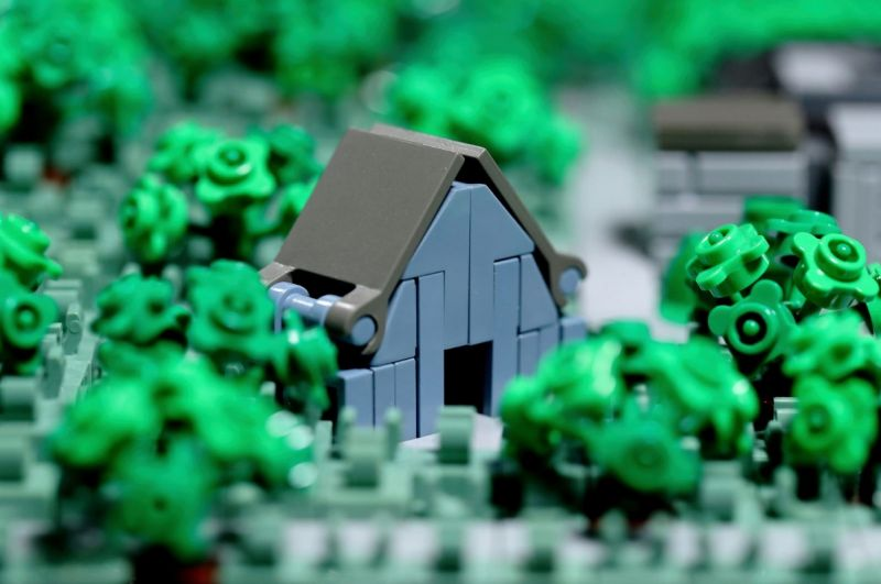 apple park lego 03 - Recriaram o Apple Park com 85 mil peças LEGO