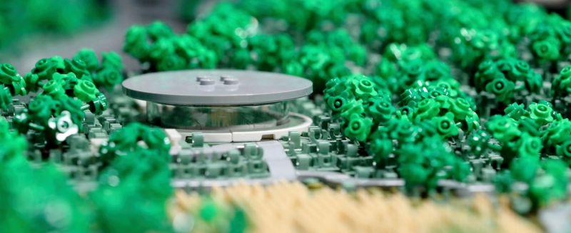 apple park lego 04 - Recriaram o Apple Park com 85 mil peças LEGO