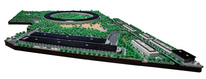 apple park lego 06 - Recriaram o Apple Park com 85 mil peças LEGO