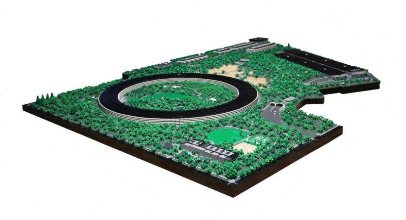 apple park lego 08 - Recriaram o Apple Park com 85 mil peças LEGO