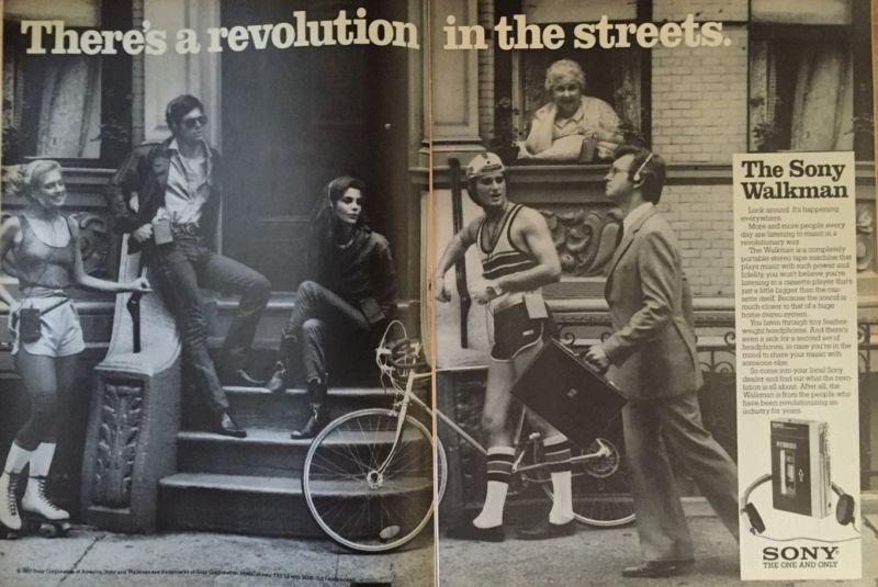 sony revoluçao nas ruas - 13 ideias de design revolucionárias da Sony que vingaram (ou fracassaram)