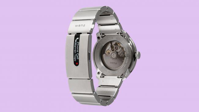 e8db3ed0e3a Os braceletes Sony Wena Wrist estarão disponíveis em uma versão em metal –  Wena Wrist Pro – e em silicone – Wena Wrist Active -