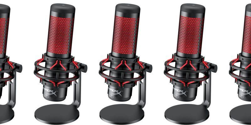 HyperX Quadcast: Primeiro Microfone Da HyperX é Lançado No