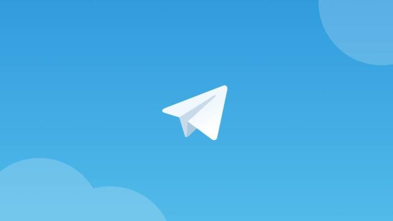 telegram logo configurações de privacidade