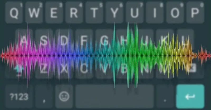 configurando o teclado virtual do android