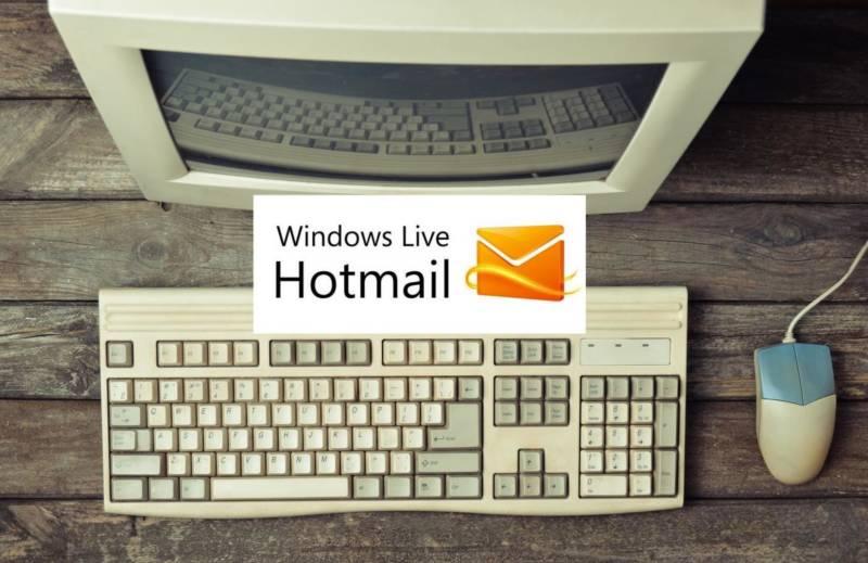 computador com o hotmail