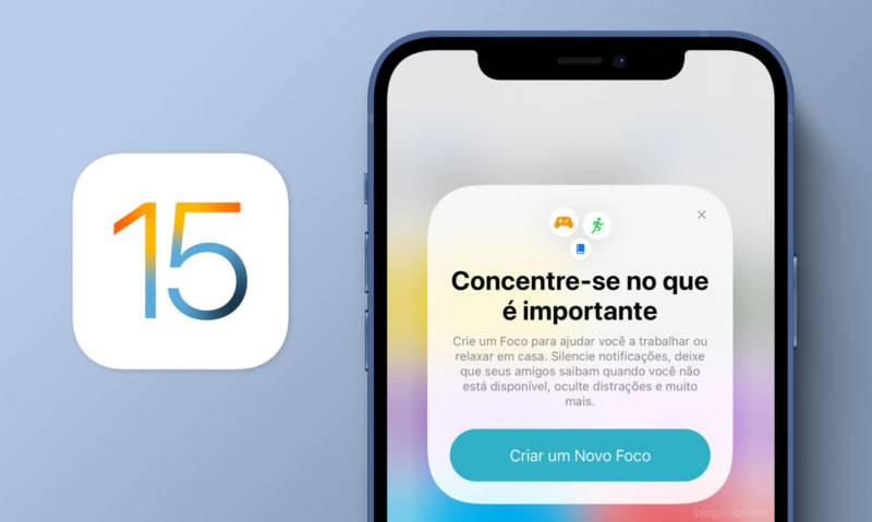 Como usar o Modo Foco no iOS 15