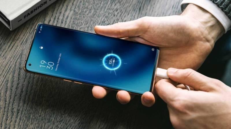 recarga de bateria no smartphone